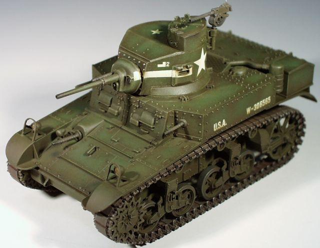 アメリカM3スチュアート軽戦車